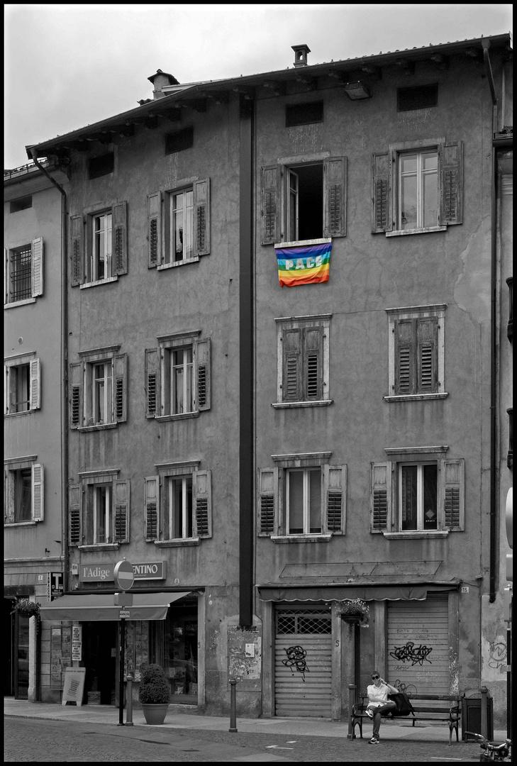 Friedens Fahne!