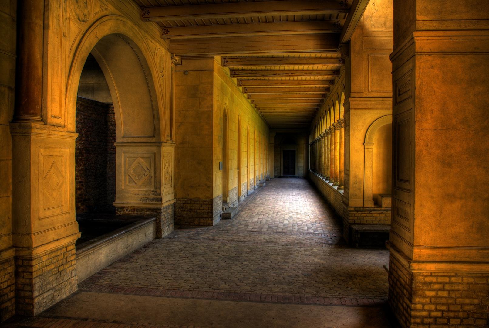 Friedenskirche im Schlosspark Sanssouci- HDR