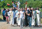 Friedensmarsch von HUMAC nach Medjugorje