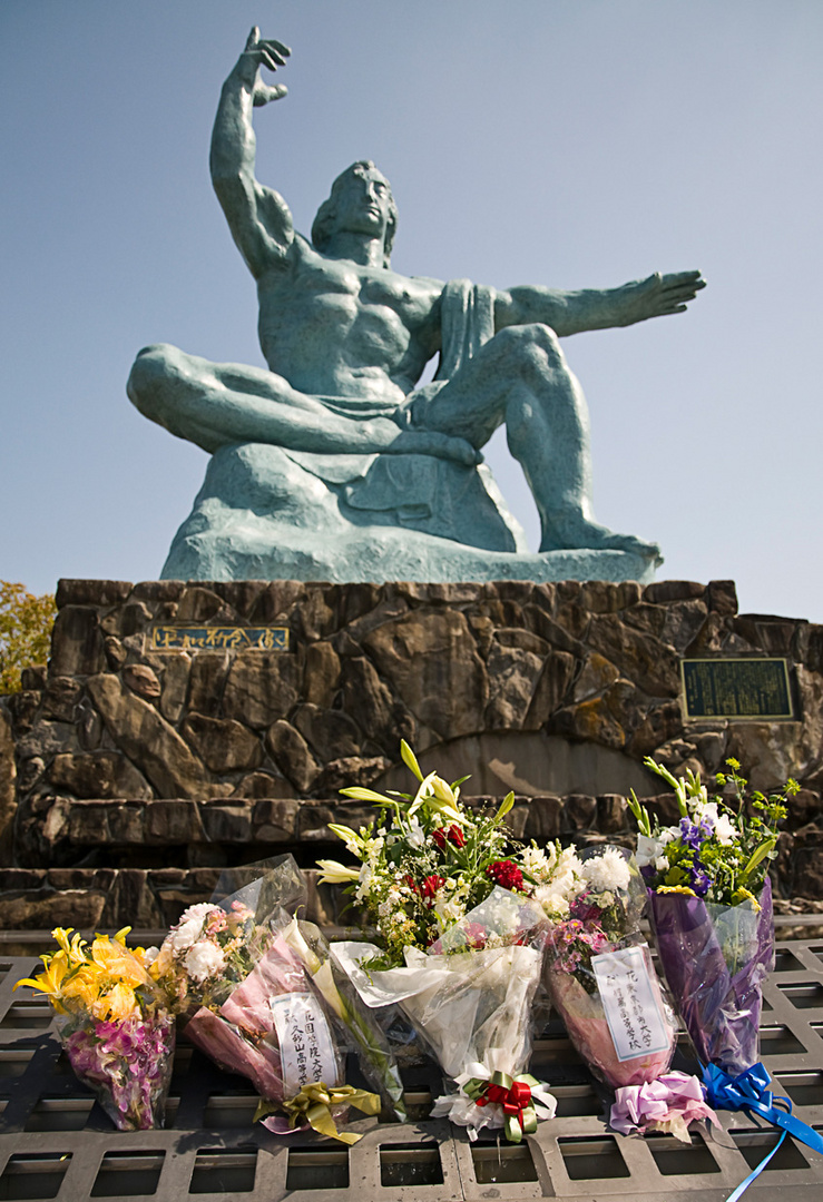Friedensstatue - Nagasaki