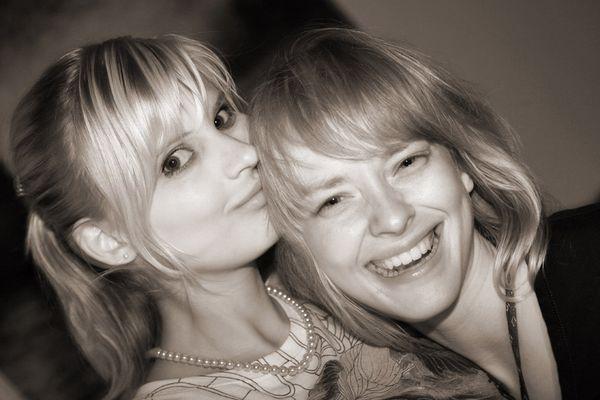 Friederike und Kathleen