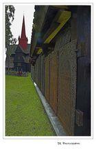 Friedhof an der Stabkirche von Ringebu