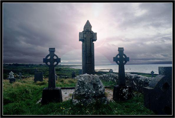 Friedhof bei Inverin-Connemara