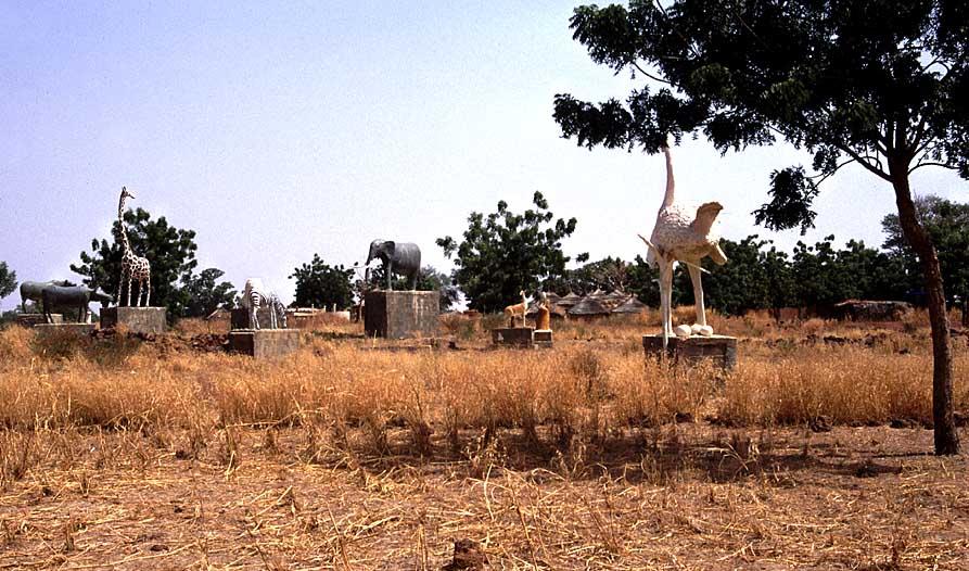 Friedhof der Mossi-Könige in Burkina Faso