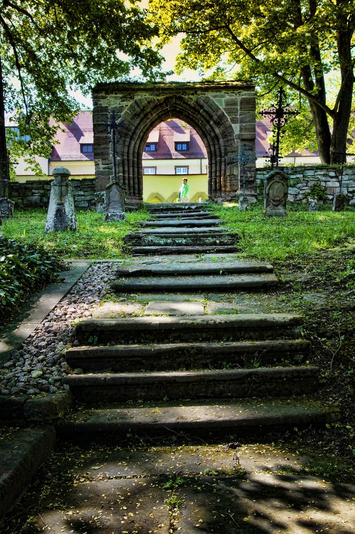Friedhof der Nonnen - Kloster Kirchberg