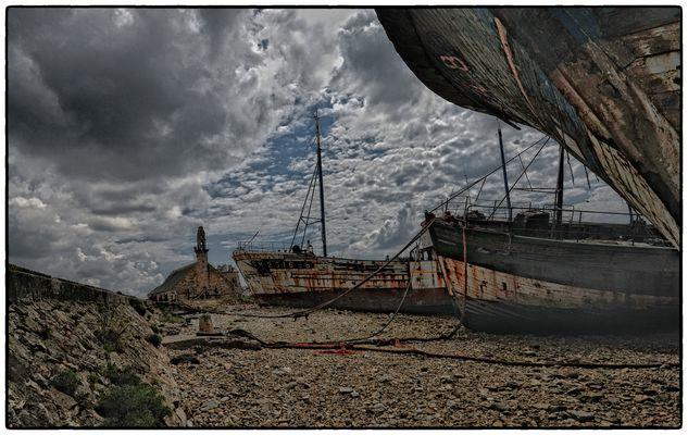 Friedhof der Schiffe - Cimetière des navires