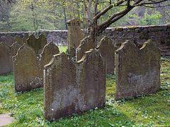 Friedhof in Burg an der Wupper