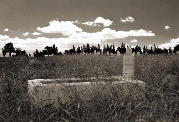 Friedhof in Cappadocia