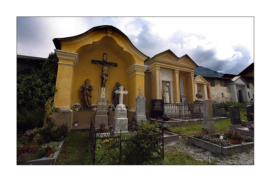 Friedhof in den Kärtener Alpen