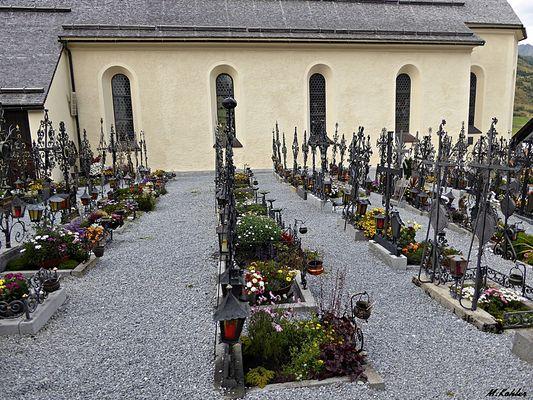 Friedhof in Galtür
