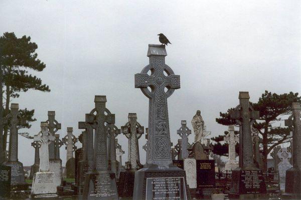 Friedhof in Galway, Irland