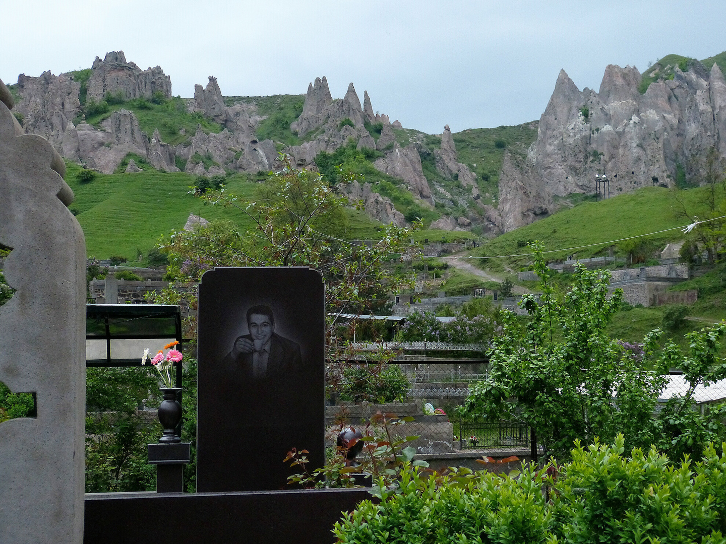 Friedhof in Goris.