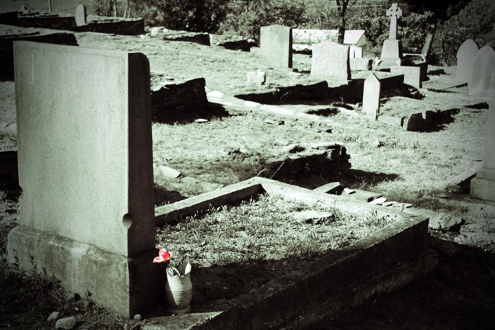 Friedhof in Pilgrims Rest (Südafrika)