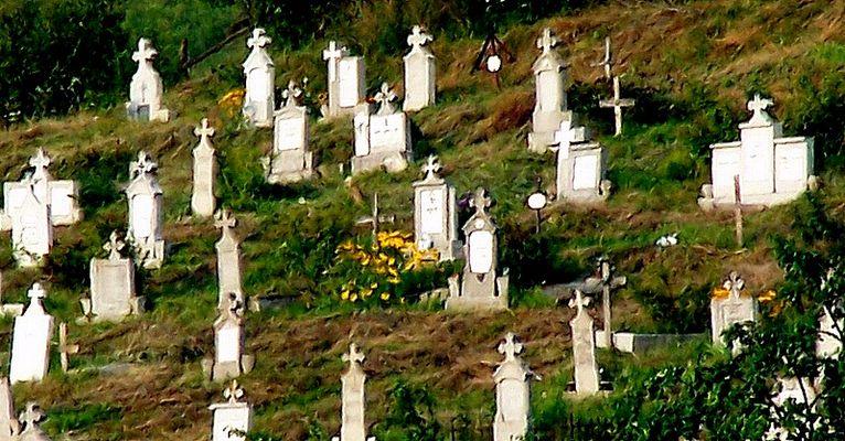 Friedhof in Rumänien