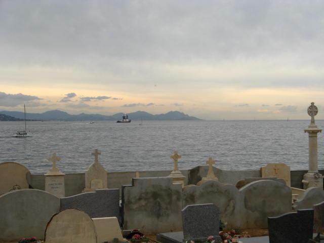 Friedhof in St. Tropez (Südfrankreich)