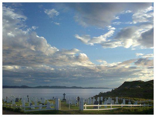 Friedhof in Twillinggate - Neufundland
