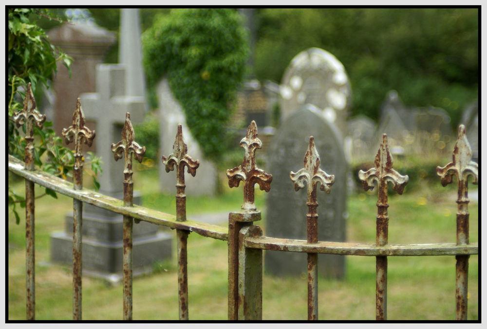Friedhof in Wales