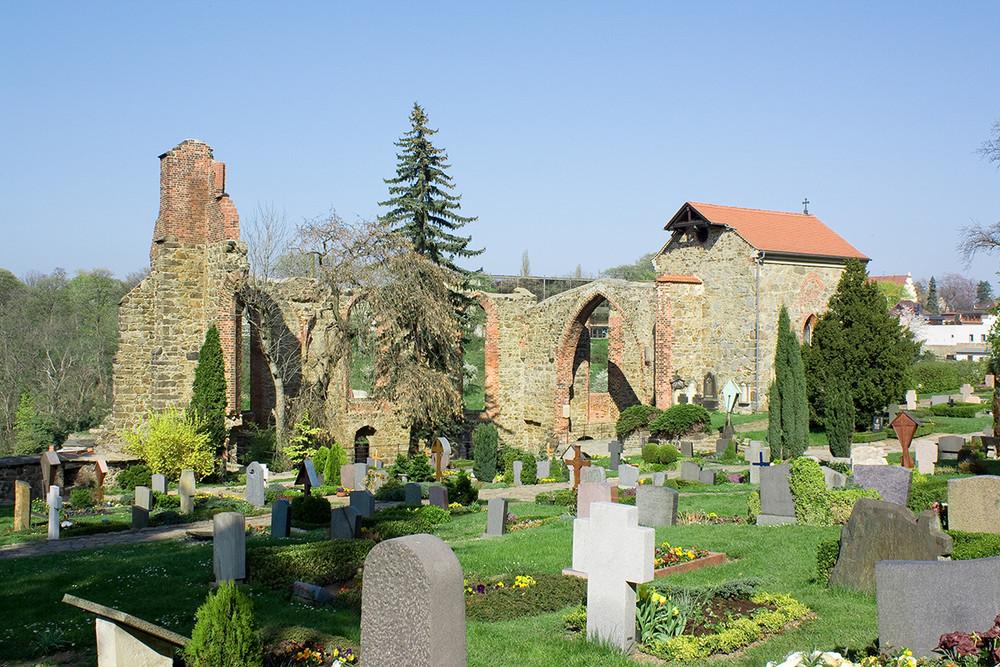 Friedhof Nikolaikirche in Bautzen (Sachsen)