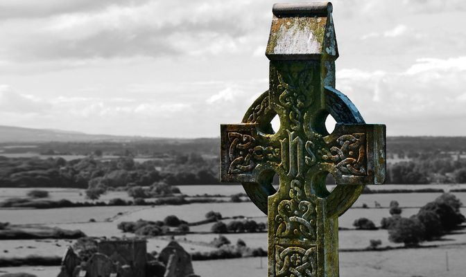 Friedhof, The Rock of Cashel, Irland