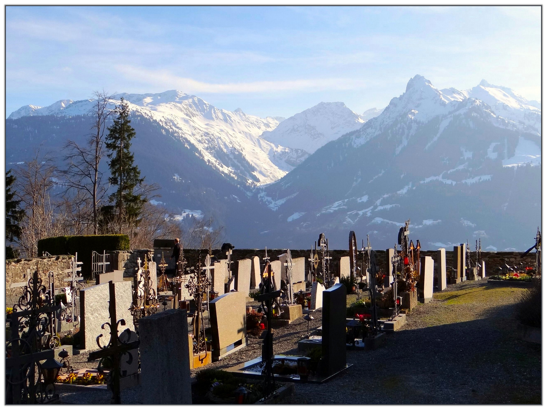 Friedhof von Bartholomäberg