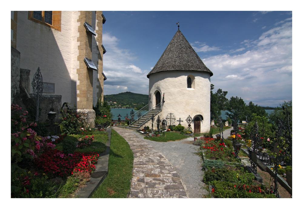 Friedhof von Maria Wörth...