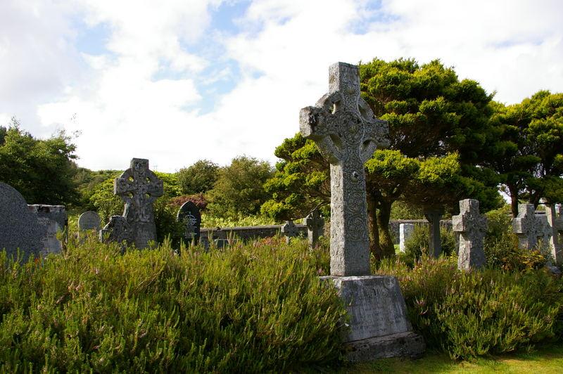 Friedhof von Portree auf Insel Skye