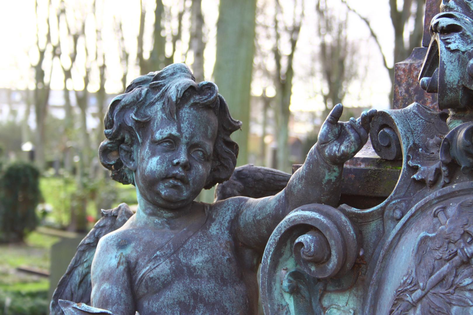 Friedhofs Engel