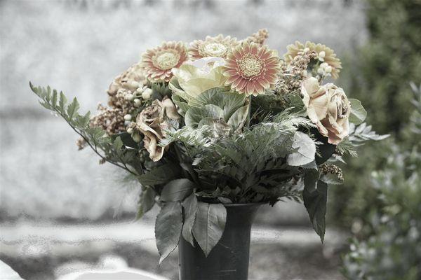 Friedhofsblumen