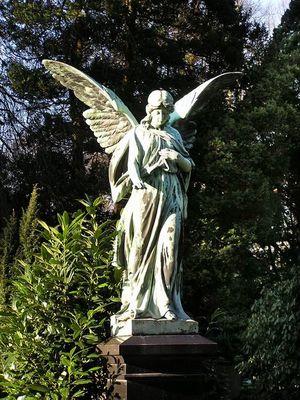 Friedhofsengel Ohlsdorf / Hamburg