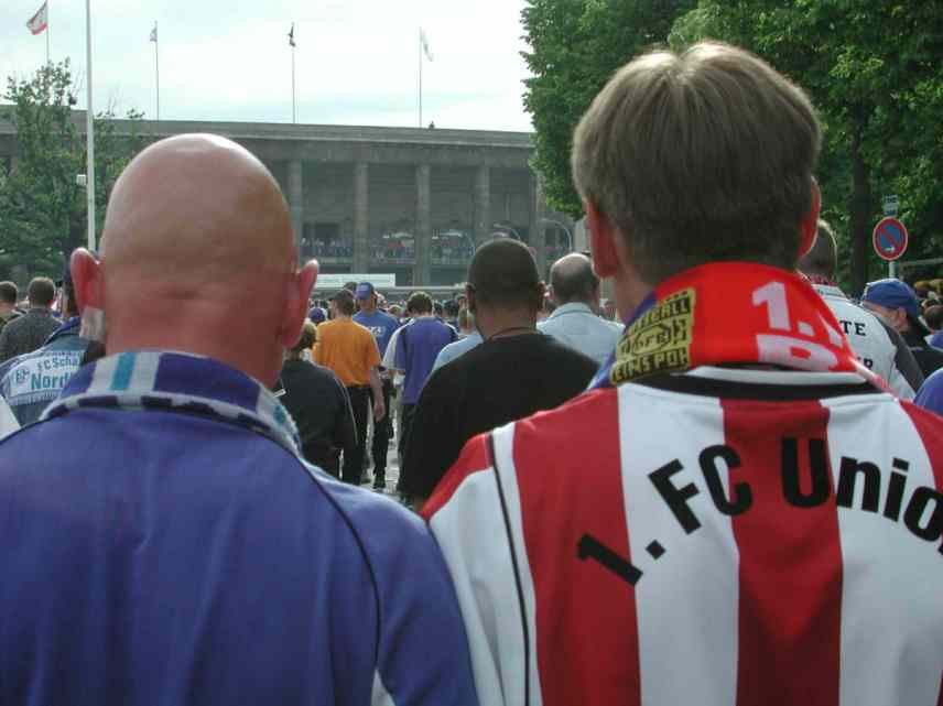 Friedliche Fans