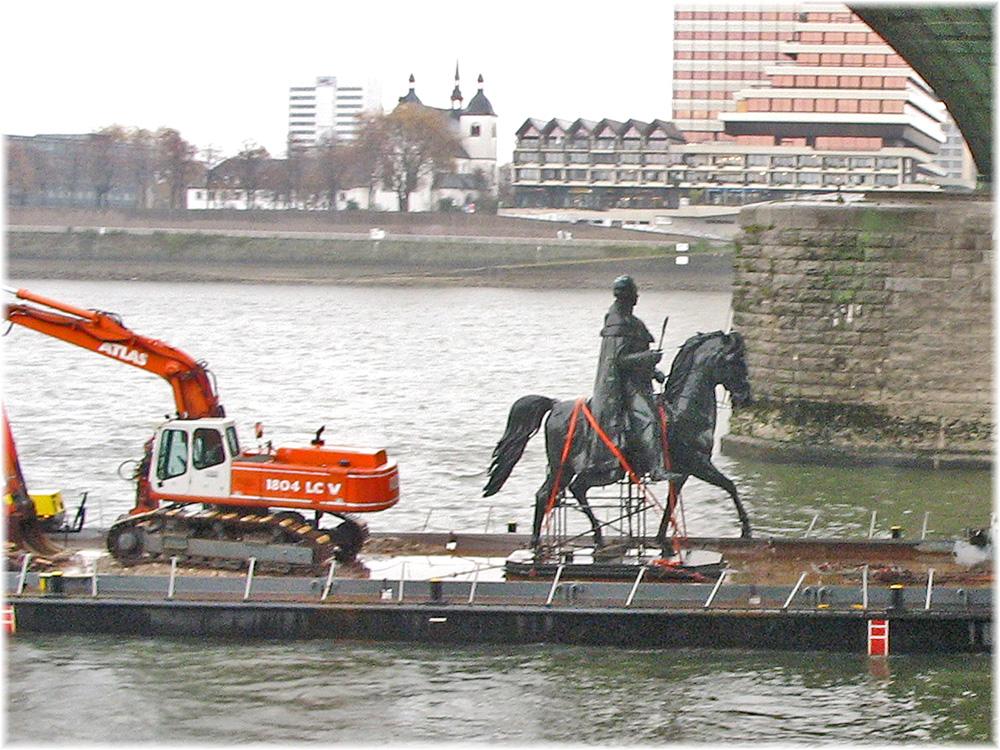 Friedrich-Wilhelm III unterwegs