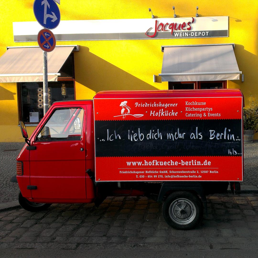 (Friedrichshagen)..., Ich lieb dich mehr als Berlin