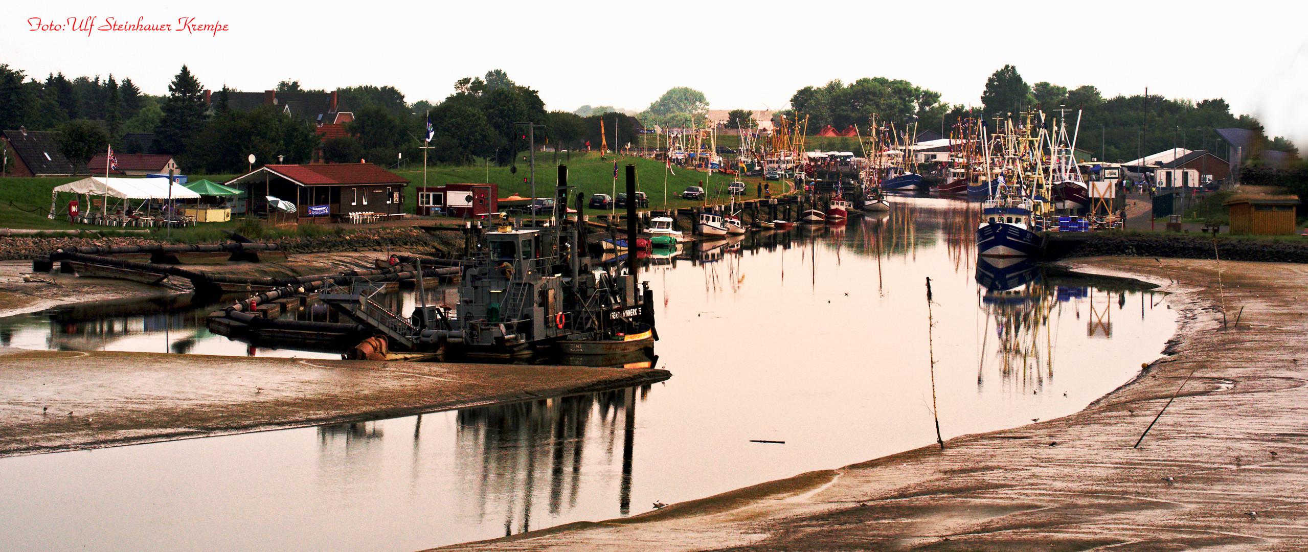 Friedrichskoog Hafen