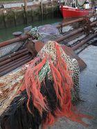 Friesische Küste: Hafenszenerie Neuharlingersiel