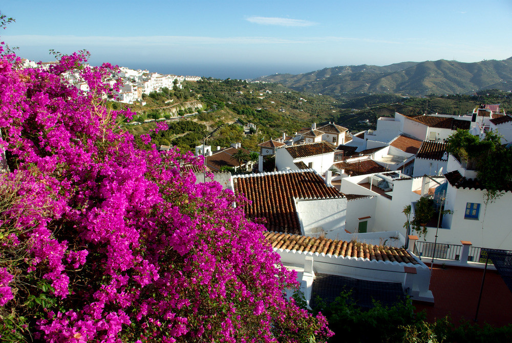 Frigiliana, Andalusien