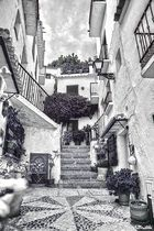 Frigiliana calle tipica ( Malaga ) 1