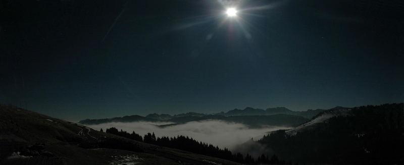 Friibourg beim Schwarzsee @ Night