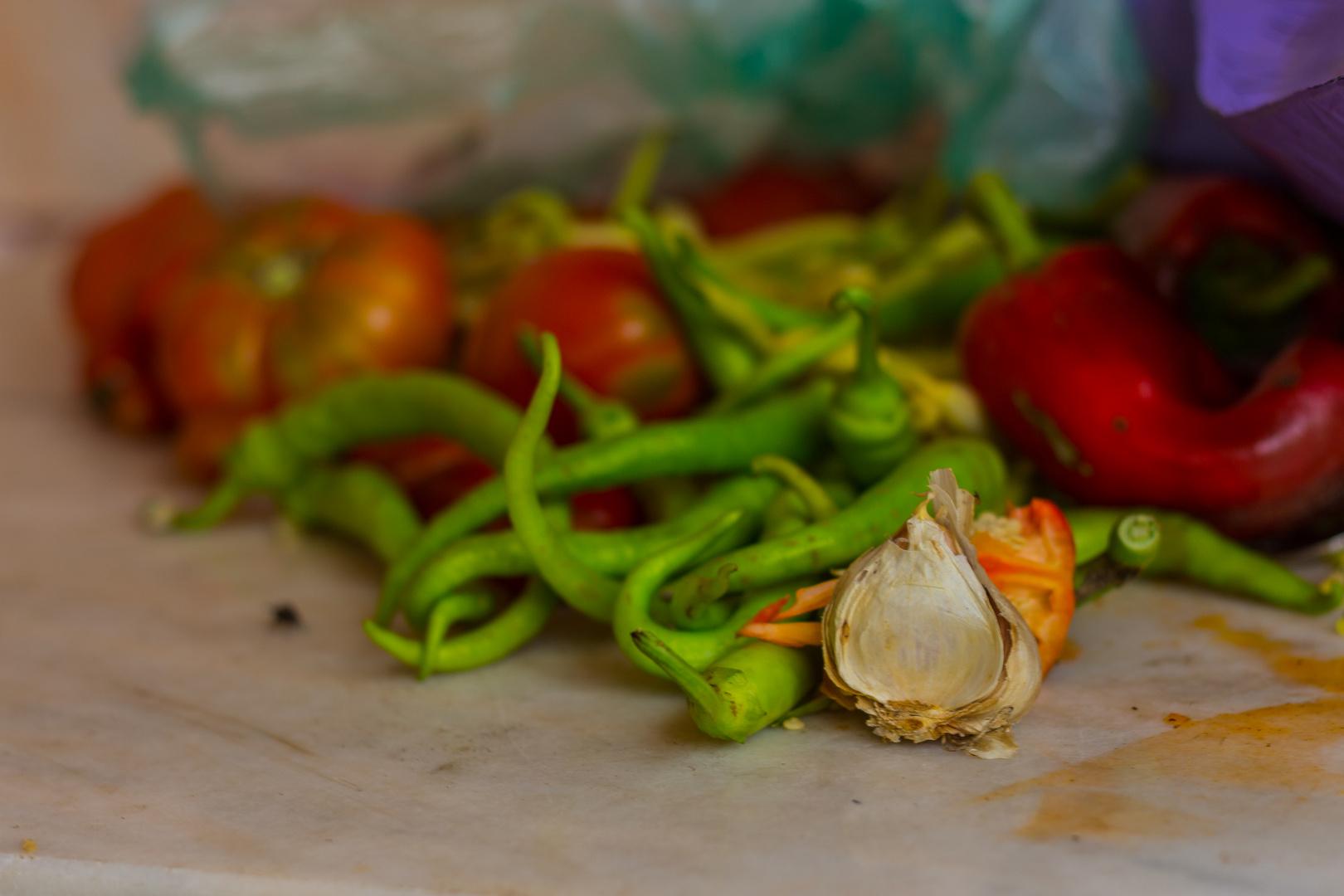 Frisch aus dem Garten