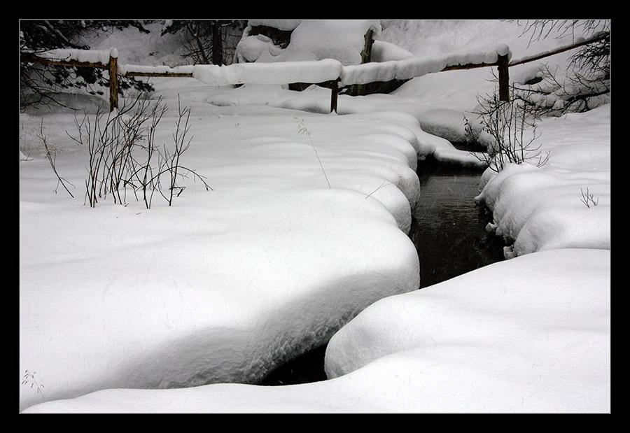 Frisch verschneit ...