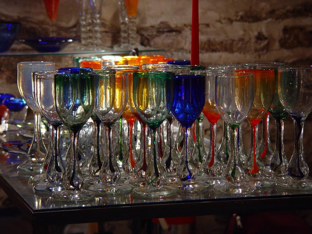 Frisches Glas