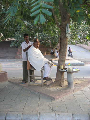 Friseur in Neu Delhi