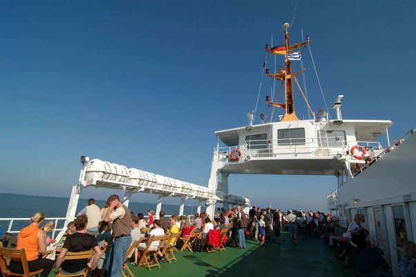 Frisia Fähre nach Norderney