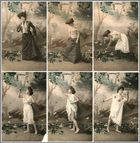 Frivole Postkartenserie (ca. 1900) I