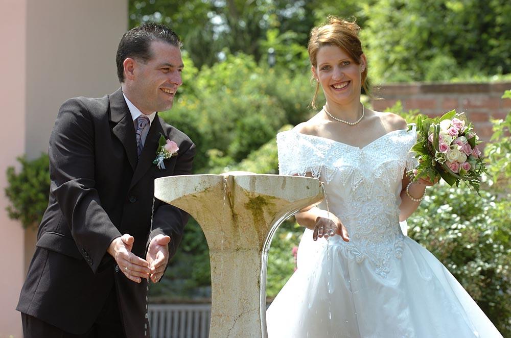 Fröhliche Hochzeit