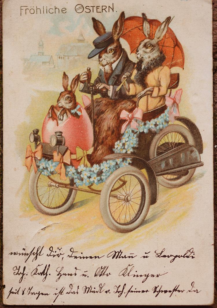 Fröhliche Ostern Anno 1901