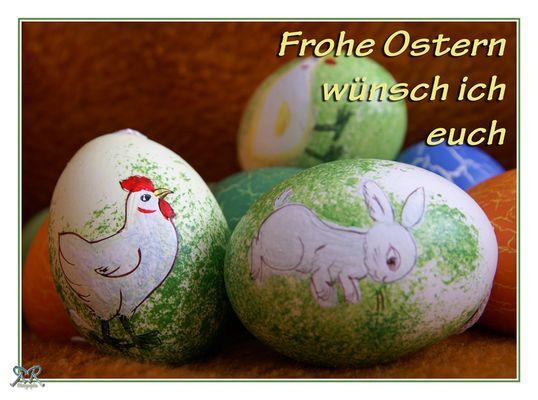 Fröhliche Ostern...
