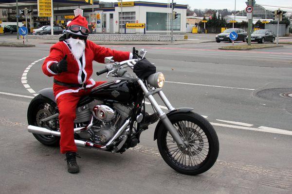 Frohe Harley - Weihnachten