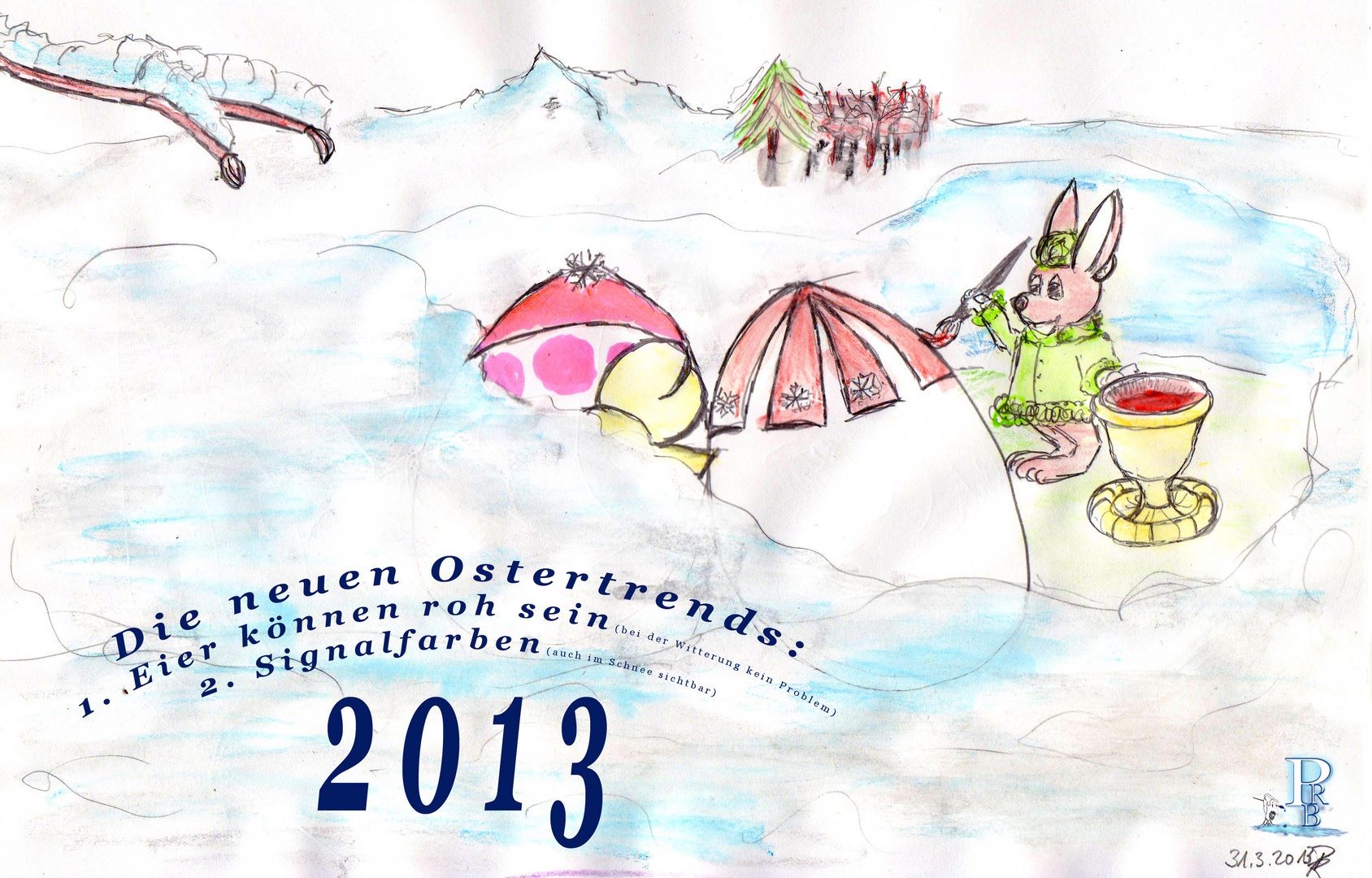 frohe Ostern ?