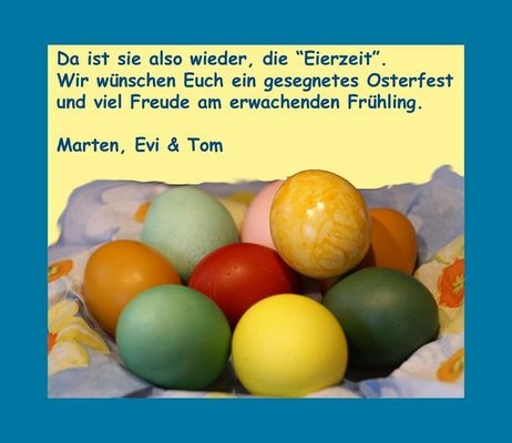 Frohe Ostern!!!!