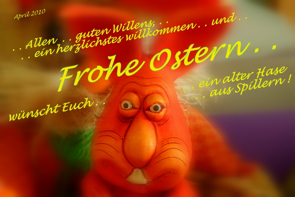 ". . ""Frohe Ostern 2010"". ."